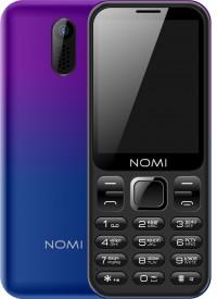 Мобильный телефон Nomi i284 Violet-blue (фиолетово-синий)
