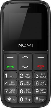 Мобильный телефон Nomi i1870 Black (черный)