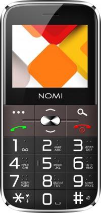 Мобильный телефон Nomi i220 Black (Черный)