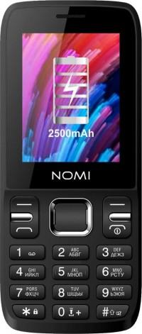 Мобильный телефон Nomi i2430 Black (Черный)